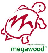 MegaWood® – amžina terasa Jūsų kieme. Logo